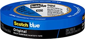 ScotchBlue Original Multi-Surface Painter's Tape, 2090, 0.94 inch x 60 yard, 1 roll