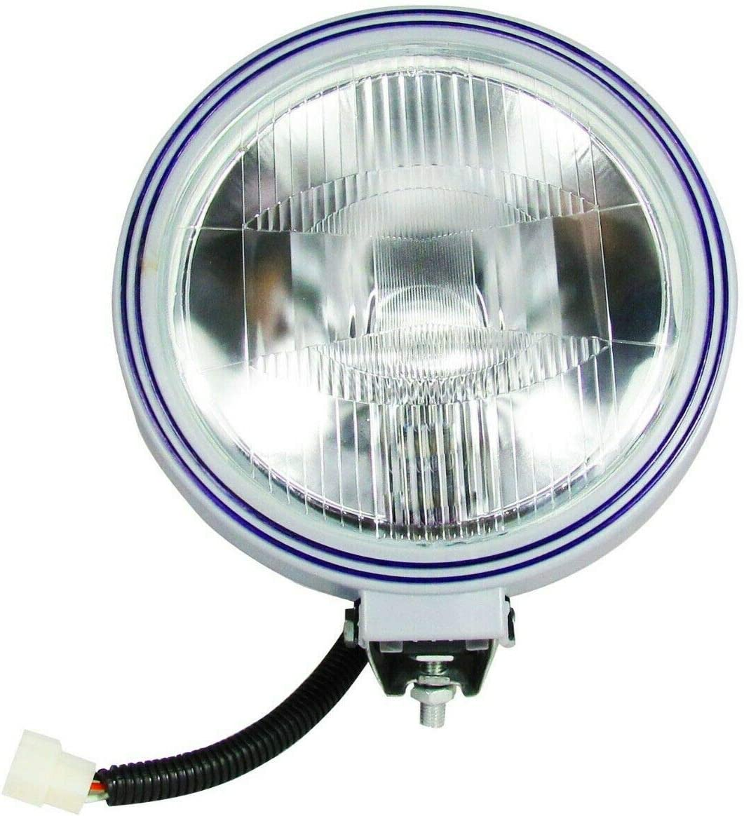 1 St/ück rund Blau schmal 22,9 cm flexzon Nebelscheinwerfer 24 V