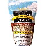 Gluten Free Prairie Oat Groats, 1 Pound - Gluten Free, Non-GMO, Whole Grain, Raw & Sproutable, Rice Substitute, Vegan, Low Gl