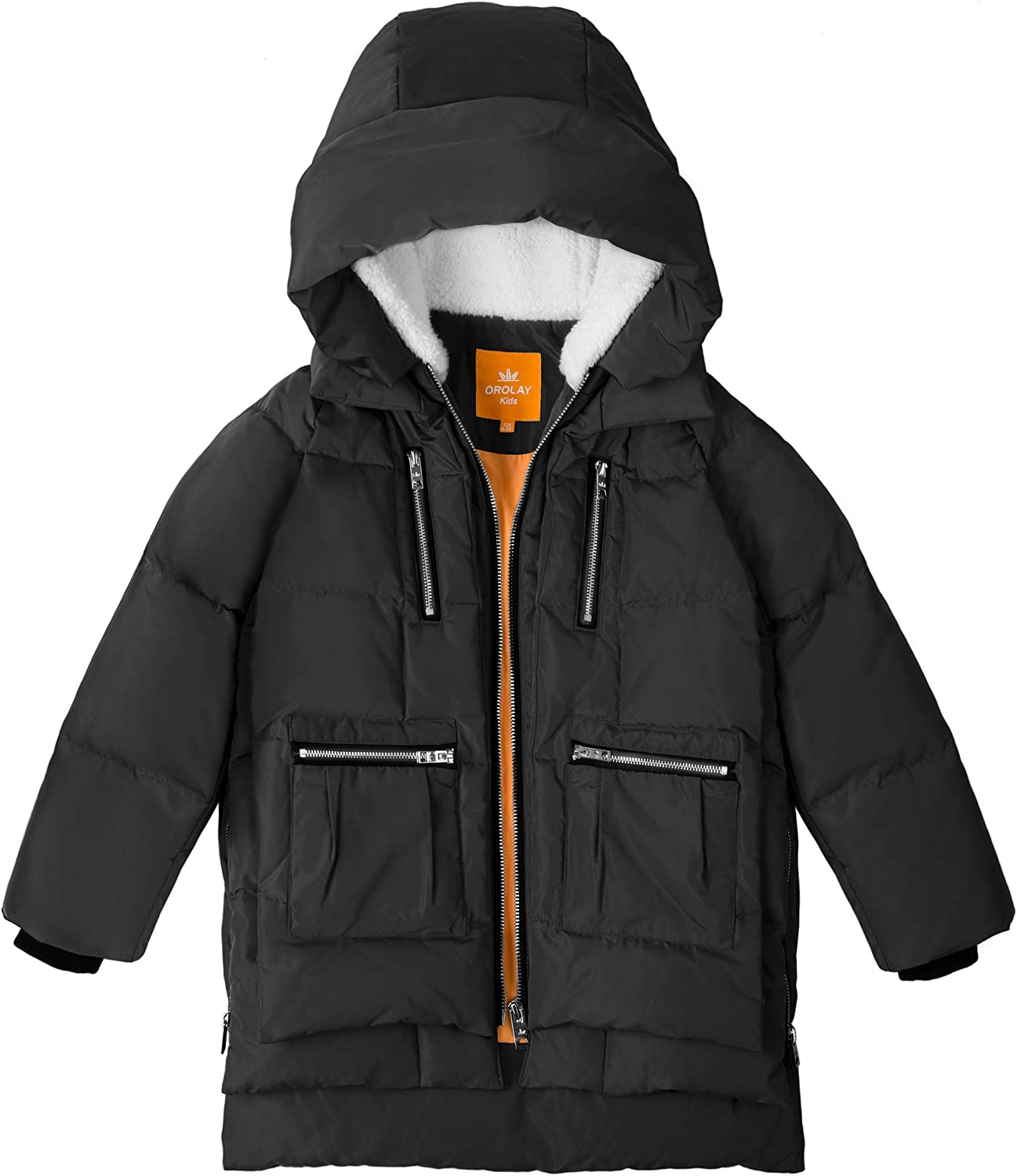 ARTFFEL Mens Winter Warm Thicker Hoodie Relaxed Fit Down Quilted Jacket Coat Parka