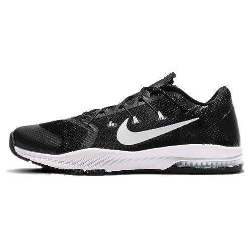 Nike Men's Zoom Train Complete TB, BLACK/WHITE, ...