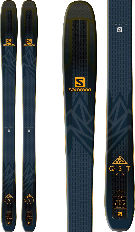 Salomon 2019 QST 99 Skis (181cm) by Salomon