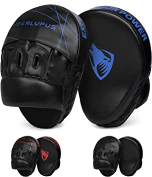 Breathable Hole Design PU Boxing Focus Pads Punch Gloves Muay Thai Training Mitt