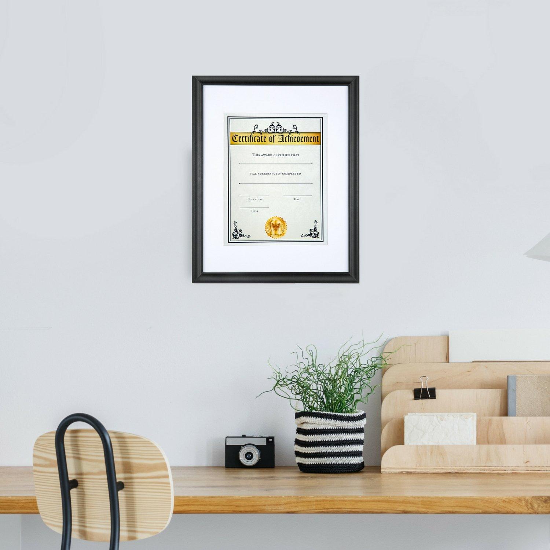 Amazon.de: Icona Bucht 8, 5 von 11 Bilderrahmen, Holz Diplom Rahmen ...