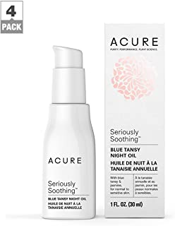 product image for Acure Seriously Soothing Blue Tansy Night Oil, 1 OZ, Pack-4