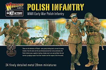 Early WW II, Polish Infantry - Bolt Action 28mm Metal ...