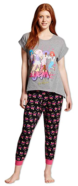 Briefly Stated Jem and The Holgrams Ladies Nightshirt for Women 0e90160e0