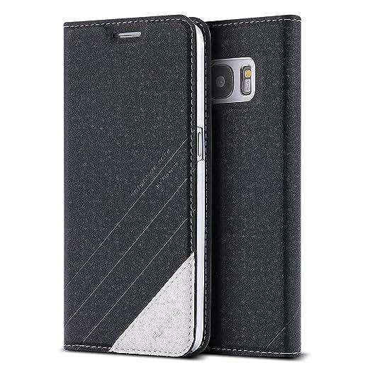 36 opinioni per FLOVEME Cover per Samsung S7 Custodia Portafoglio a Libro Flip Magnetico Porta