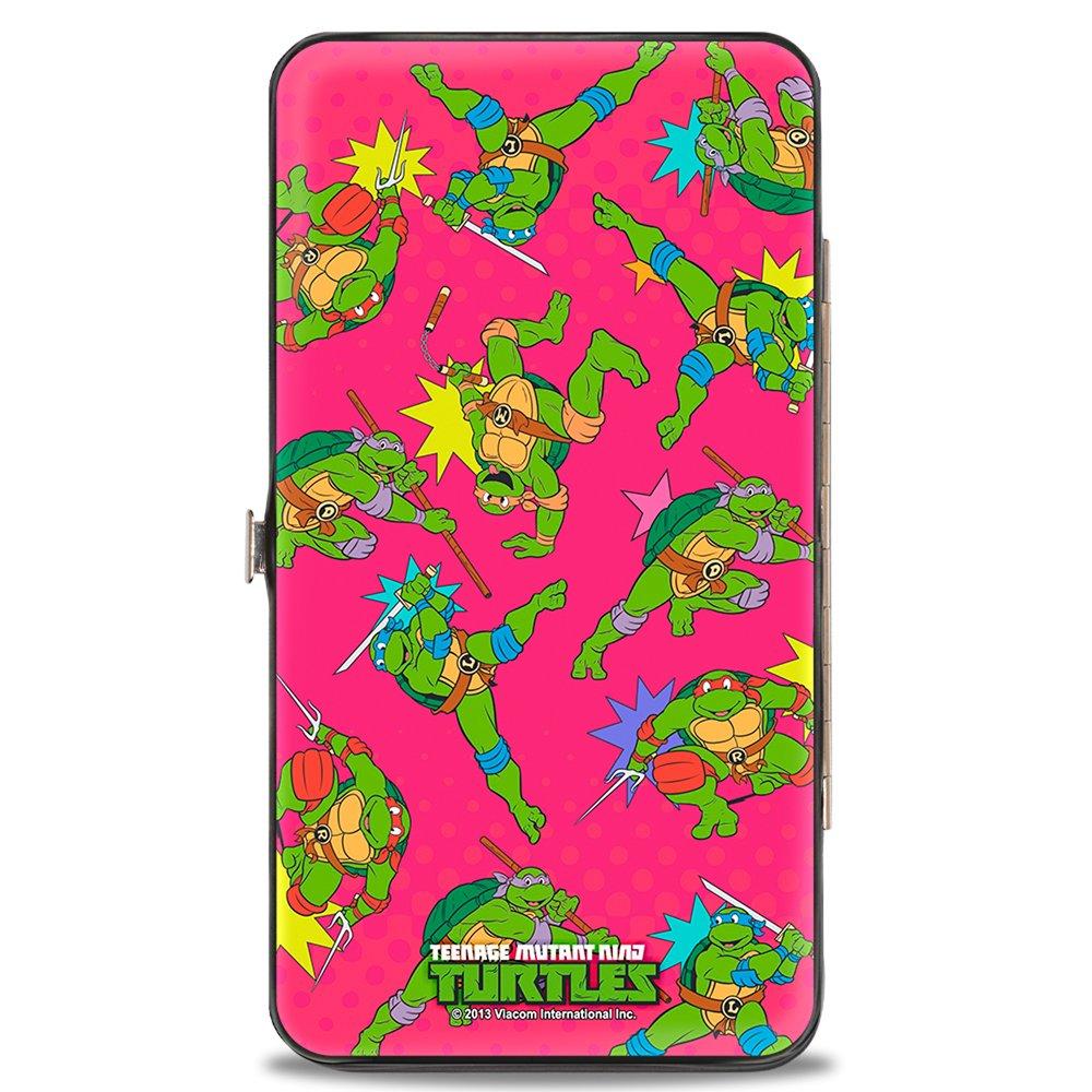 Buckle-Down Buckle-Down Hinge Wallet - Ninja Turtles Accessory, -Ninja Turtles, 7