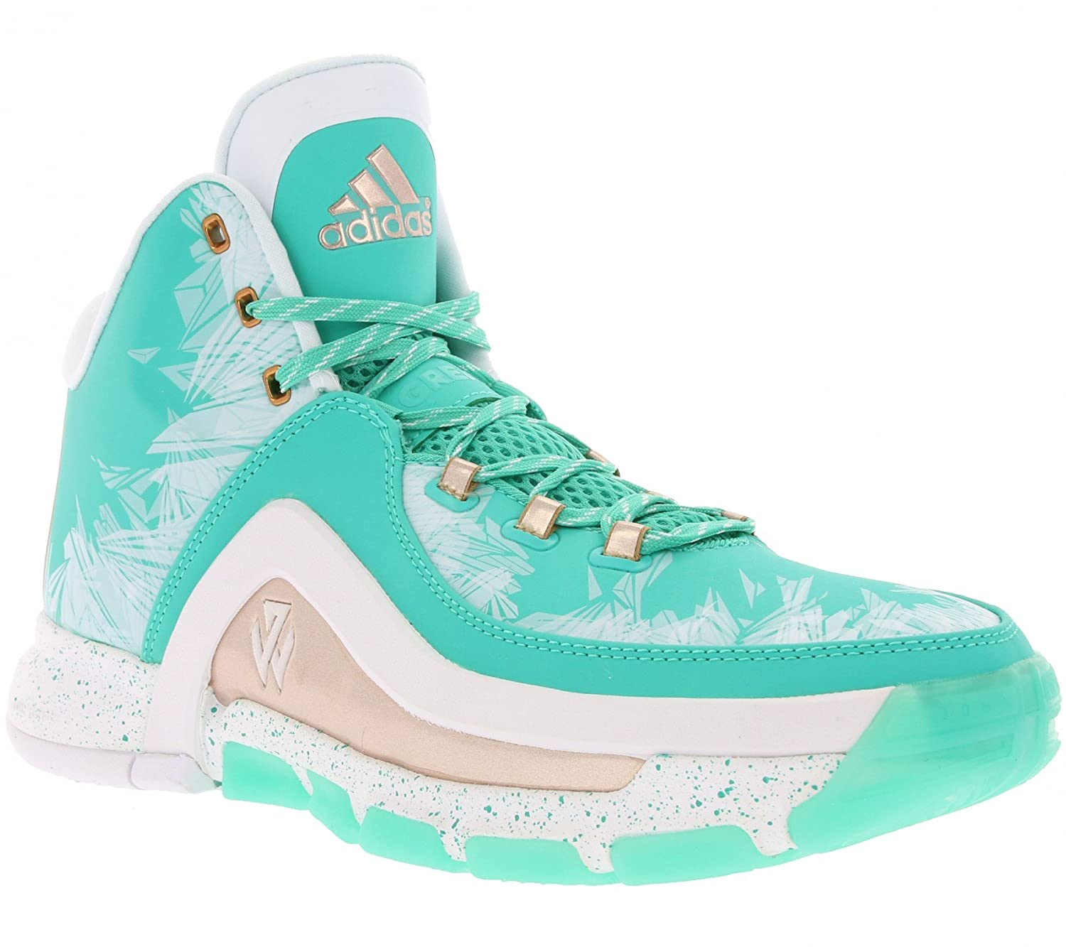a9ed26f0f969 Adidas Performance J Wall 2 Men s Basketball Shoes Turquoise S85575   Amazon.co.uk  Sports   Outdoors