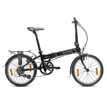 """Dahon Vitesse D8 Bicicleta Plegable, Unisex Adulto, Negro Obsidian, 20"""""""