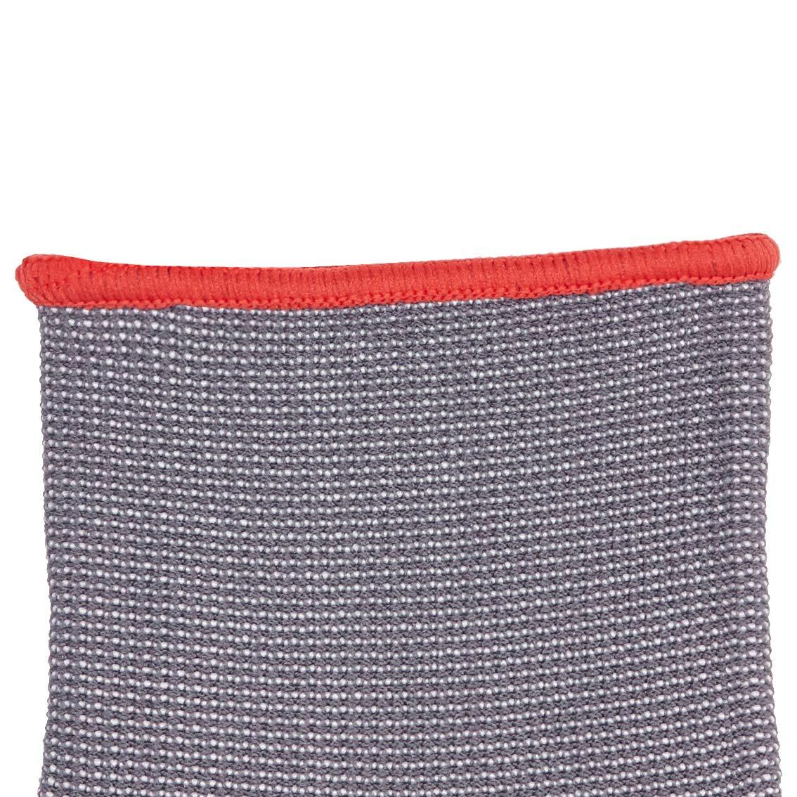 AmazonBasics Micro-Foam Nitrile Coated Work Gloves, Nylon Liner Fiber, Touch Screen, Grey, Size 9, L, 12-Pair by AmazonBasics (Image #7)