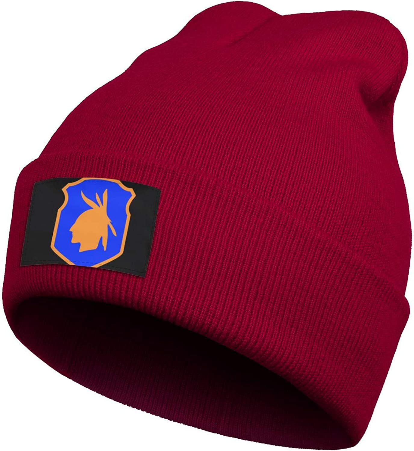 Beanie Men Women USA 98th Infantry Division Hat Perfect for Hiking and Many More Outdoor Activities