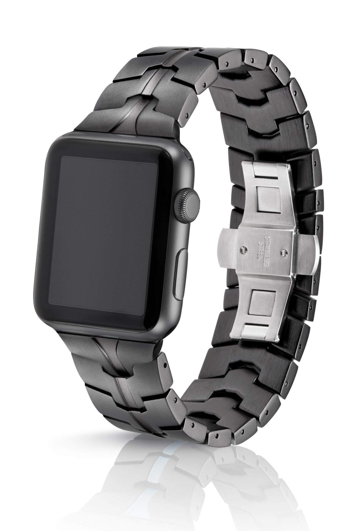 JUUK Design 42mm Vitero Cosmic Grey Band for Apple Watch