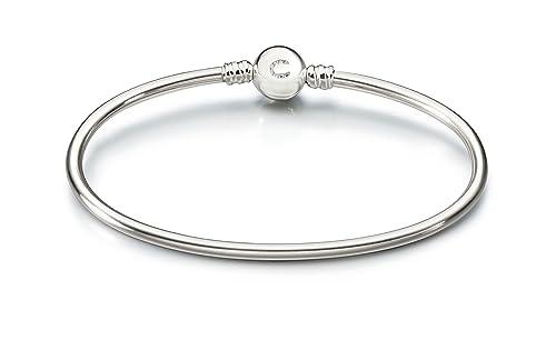 6fb54b813483e Amazon.com: Chamilia Authentic Sterling Silver Brilliance Bangle ...