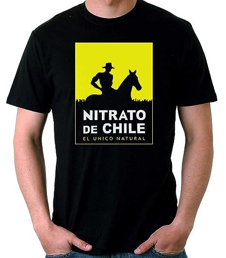 35mm - Camiseta Hombre Nitrato De Chile-Retro 80's qoIPNBXK