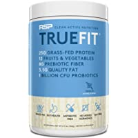 RSP NUTRITION Truefit - Grass Fed Lean Meal Replacement Protein Shake, All Natural Whey Protein Powder With Fiber…