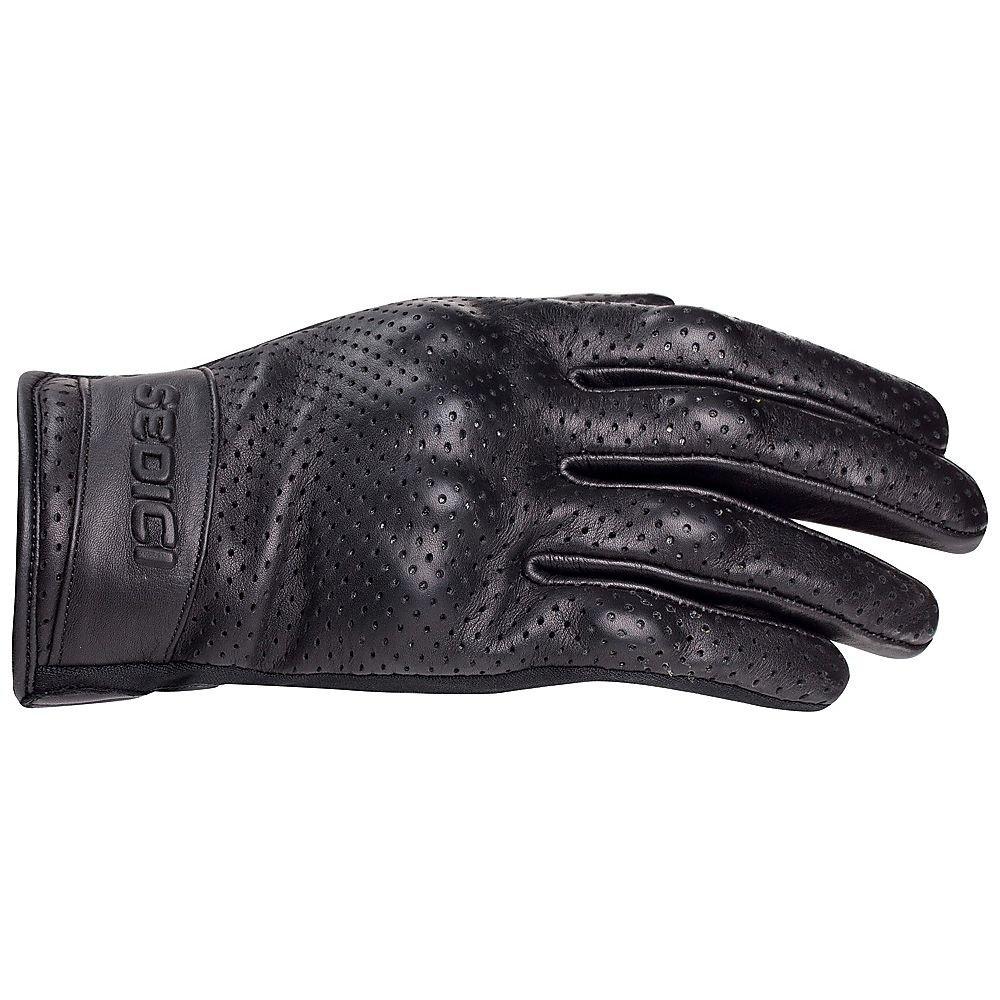 Diavolo leather motorcycle gloves - Amazon Com Sedici Lucca Leather Motorcycle Gloves Md Black Automotive