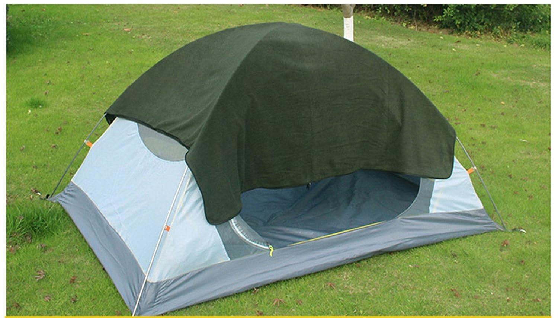 RFVBNM Saco de dormir polar Saco de dormir extragrande No se puede jugar al aire Saco de dormir para acampar al aire libre, verde militar: Amazon.es: ...