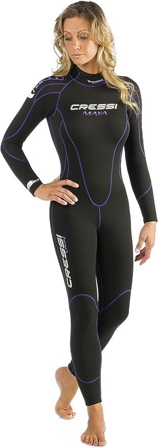 Cressi Maya, Buceo Snorkeling Traje de Buceo para Mujer 2,5 mm en ...