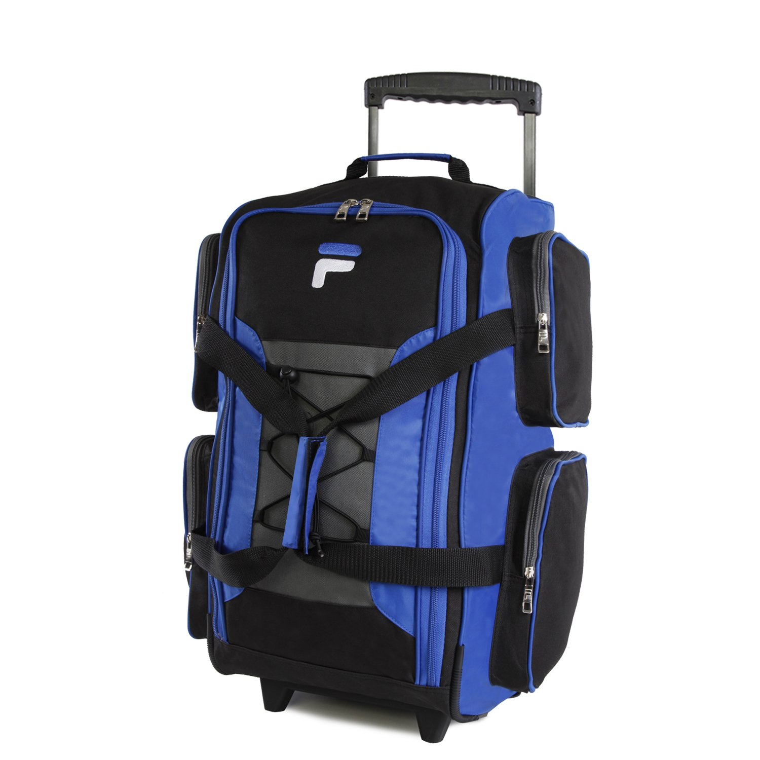 Fila 22'' Lightweight Carry On Rolling Duffel Bag,  Blue,  One Size