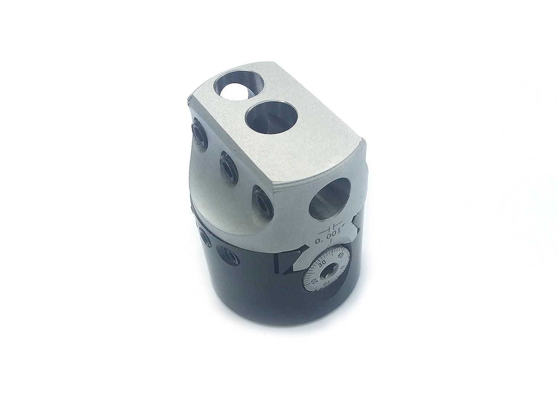 HHIP 1001-0101 2 Inch Boring Head, 1-1/2' -18 Thread 1-1/2 -18 Thread ABS Import Tools Inc.