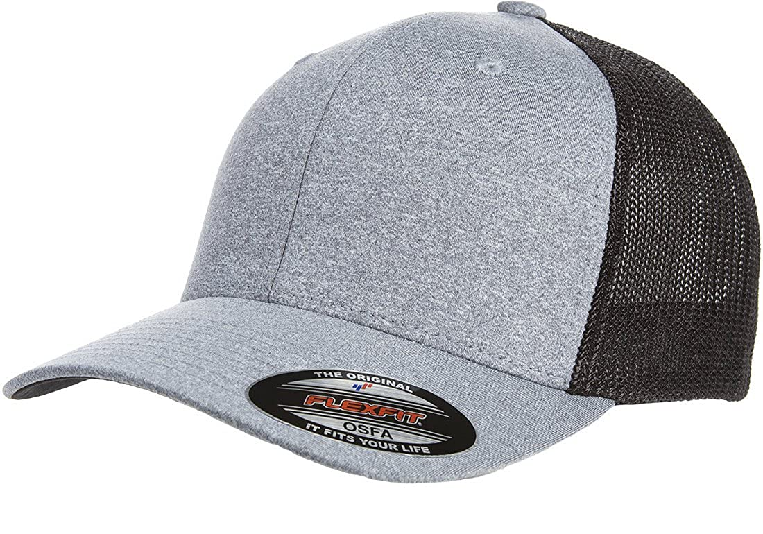 7969de44a19 Heather Grey Flexfit Hat