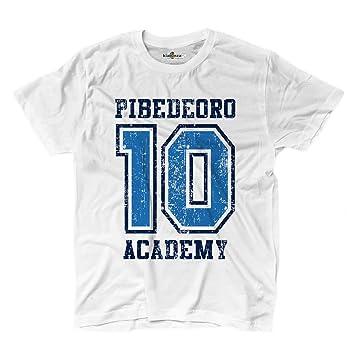 Camiseta camiseta fútbol Vita de Strada Pibe de Oro 10 Academy Argentina Grunge, KTS01706_S,
