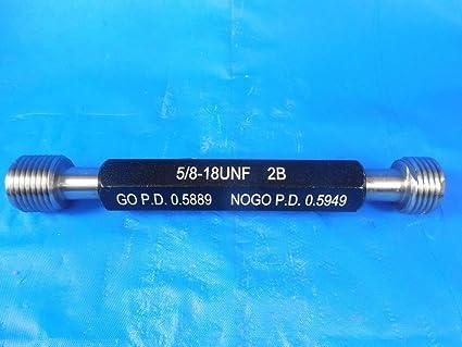 ALAMEDA GAGE 5//16-18 UNC-3B NO GO PD .2803 PLUG THREAD GAUGE