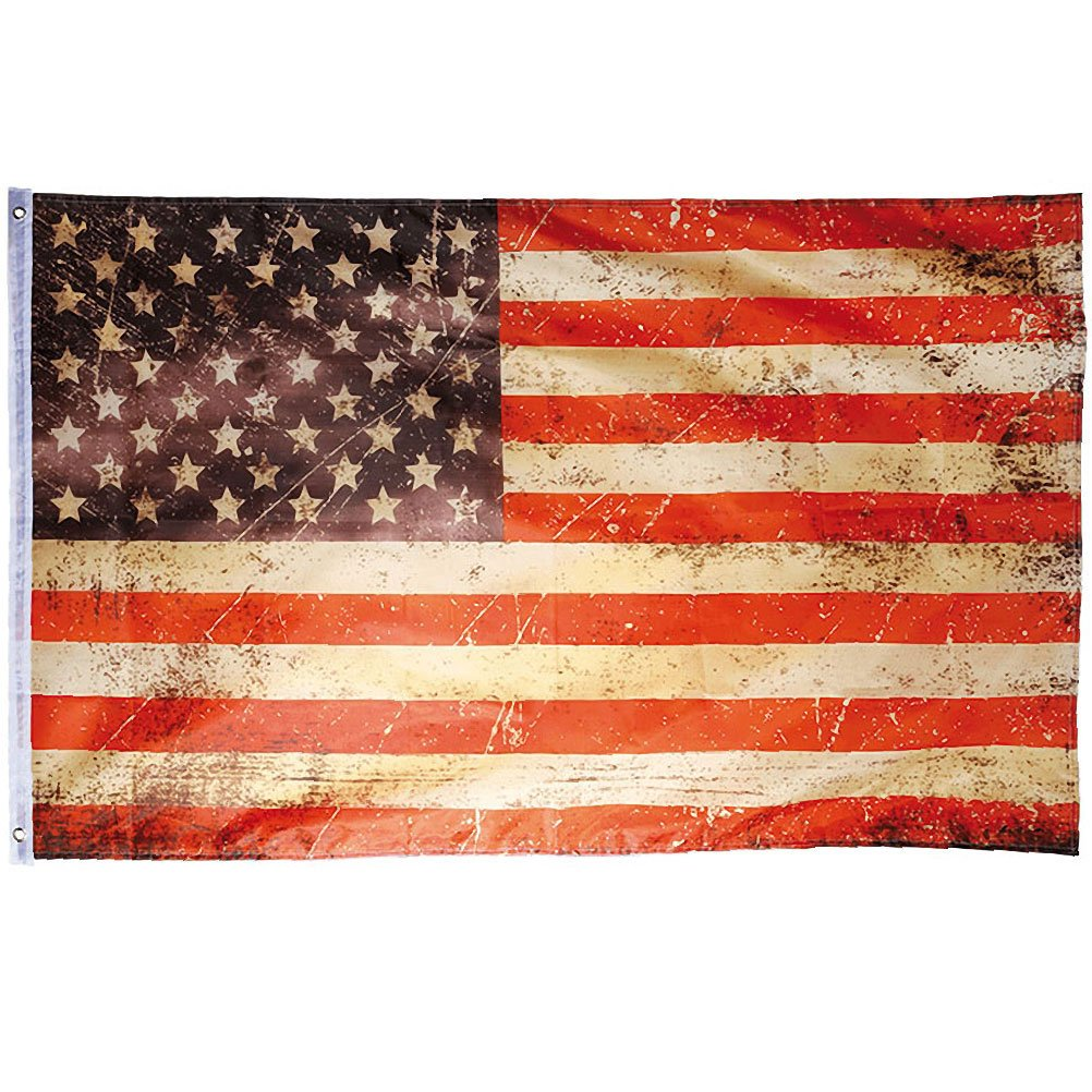 USA Fahne Vintage Retro Flagge Stars  Stripes 90 x Amazonde