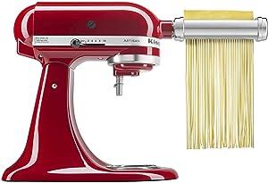 KitchenAid KSMPRA Pasta Roller & cutter attachment set, Pack of 1, Silver