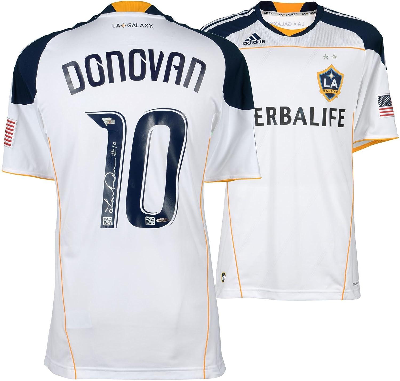 promo code d85ac 1d350 Landon Donovan LA Galaxy Autographed White Jersey - Upper ...
