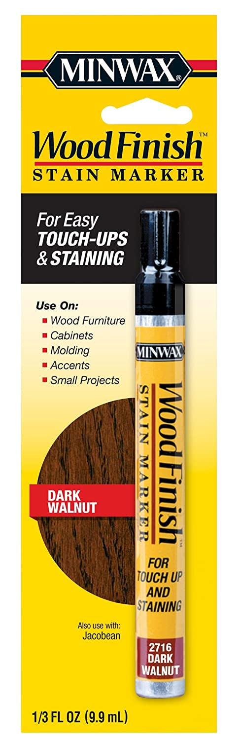 Attirant Amazon.com: Minwax 63487000 Wood Finish Stain Marker, Dark Walnut: Home  Improvement