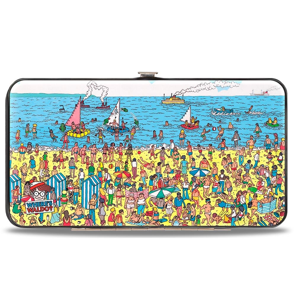 Buckle Down Hinge Wallet - Where's Waldo? Buckle-Down HW-WAB