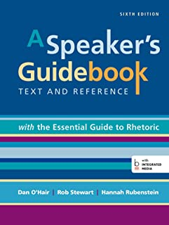 a speaker s guidebook with the essential guide to rhetoric rh amazon com Fifth Edition Foes Fifth Wheel Excel Limited Edition