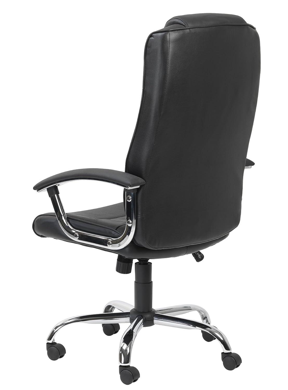 Alfason stol Modern 1000x660x650mm Svart Svart