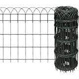 steckzaun einfach in das erdreich stecken 1 20 m l nge garten. Black Bedroom Furniture Sets. Home Design Ideas