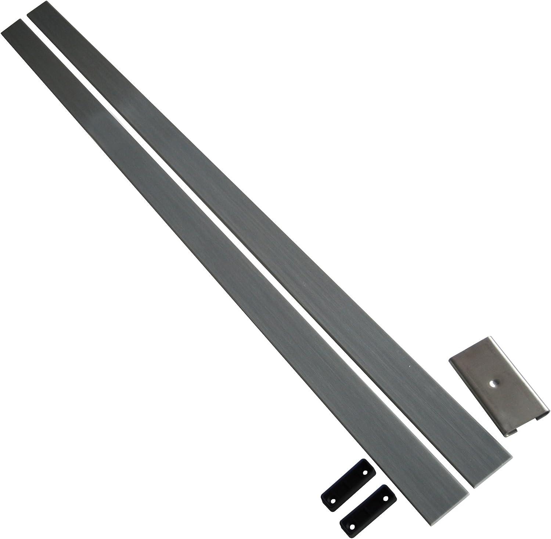 Juego de Arco de Fibra de Vidrio con Borde de Muelle – Incluye Conector de Acero Inoxidable y enchufes de Listones Moldeados (2)