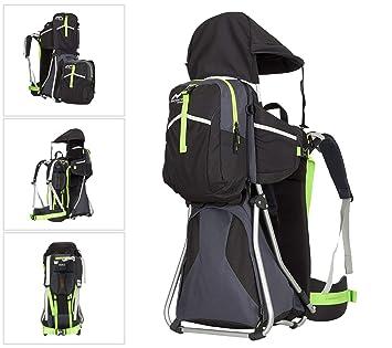 MONTIS Hike - Mochilas portabebés - 25 kg (Negro): Amazon.es: Deportes y aire libre