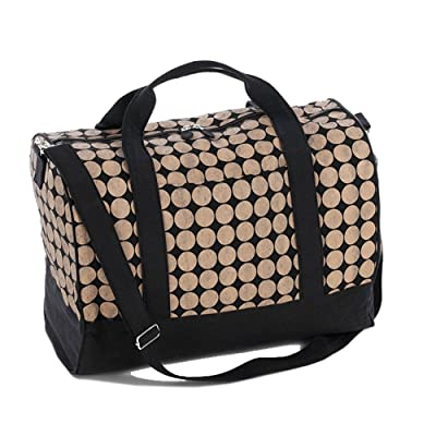 e92b29737568 Weekender Bag with Dots durable modeling - sysbearing.com