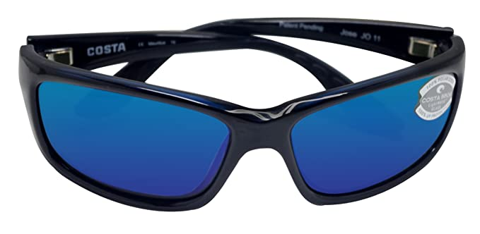 blue polarized lenses  Amazon.com: New Costa Del Mar Jose 580G Black/Blue Mirror ...