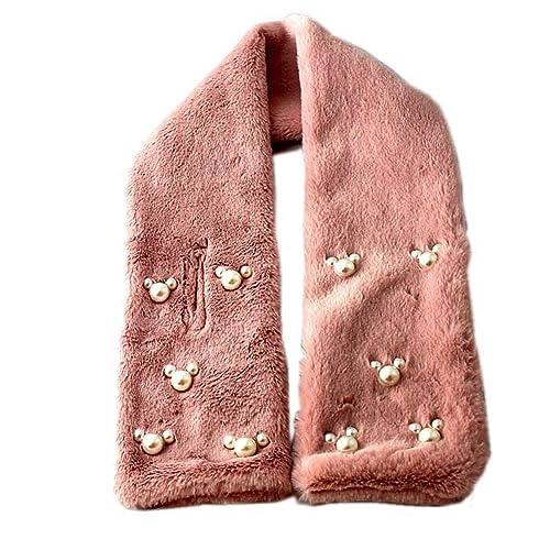 Accessoryo –  Stola  – Basic – Donna Rosa Pink Taglia unica