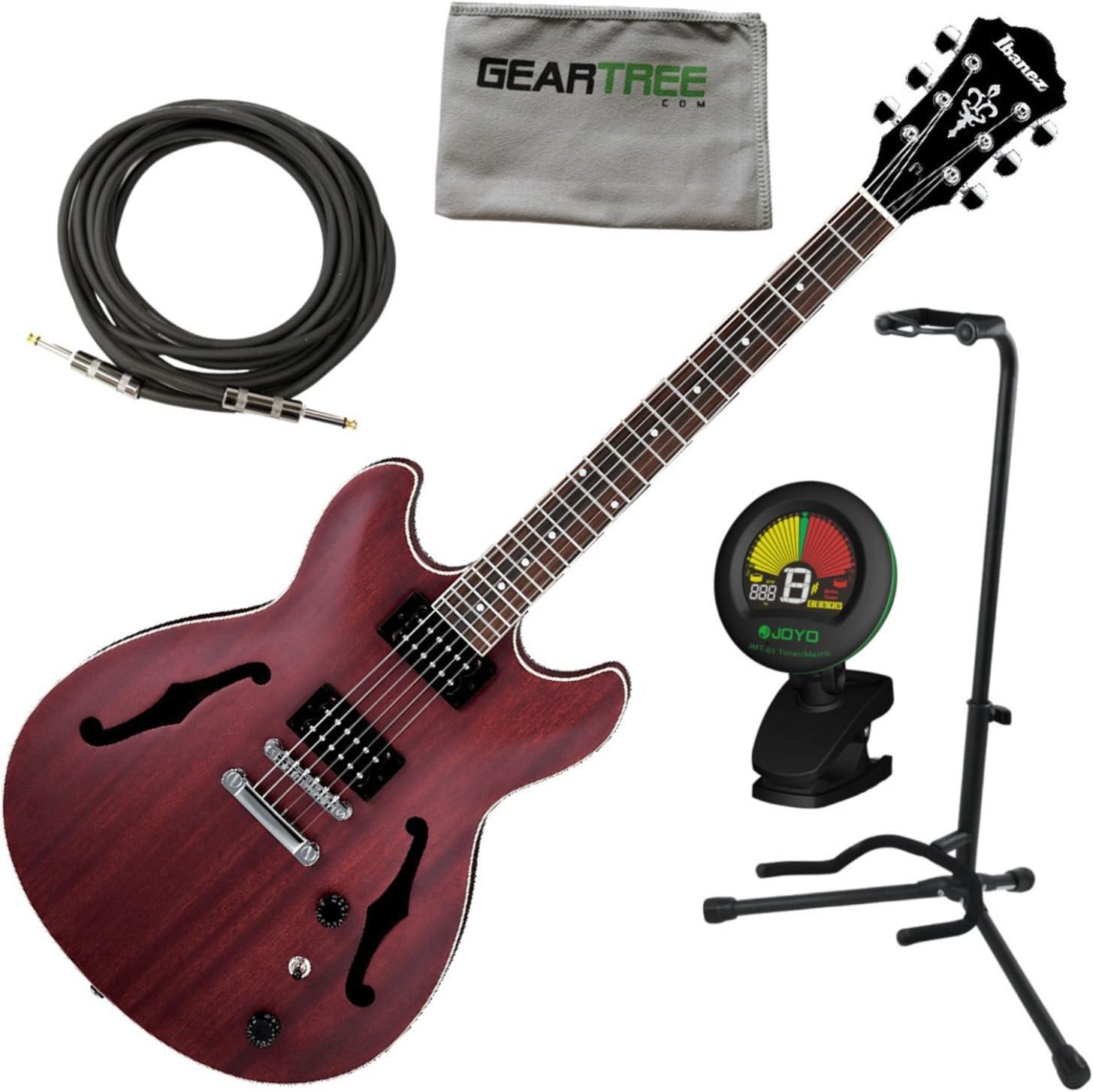 Ibanez as53trf como Artcore guitarra eléctrica transparente rojo ...