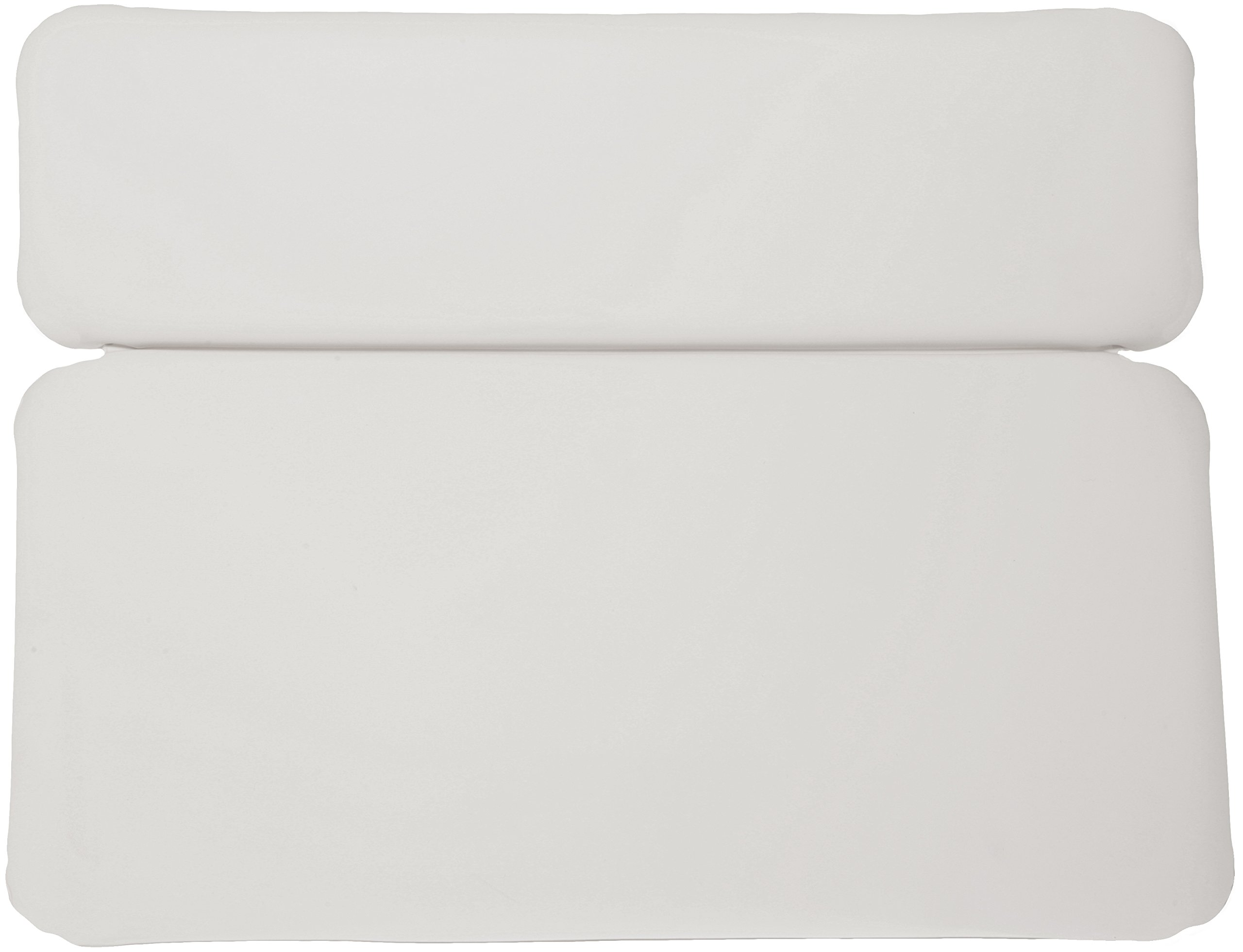 Luxury Comfort Large White Vinyl & Foam Relaxing Neck Spa Bath Pillow Hot Tub by Deluxe Comfort (Image #4)