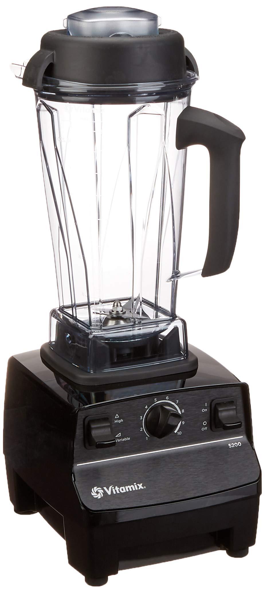 Vitamix 5200 Blender Professional-Grade, 64 oz. Container, Black by Vitamix