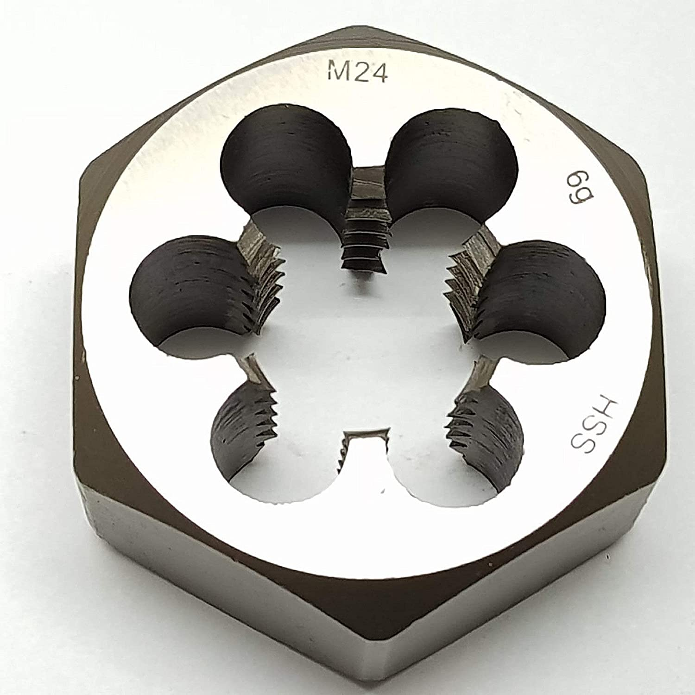 M24 Schneideisen SECHSKANT Schneidmutter Regelgewinde