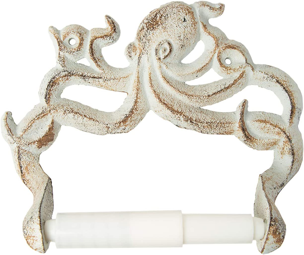 Decorative Cast Iron Octopus Toilet Paper Roll Holder