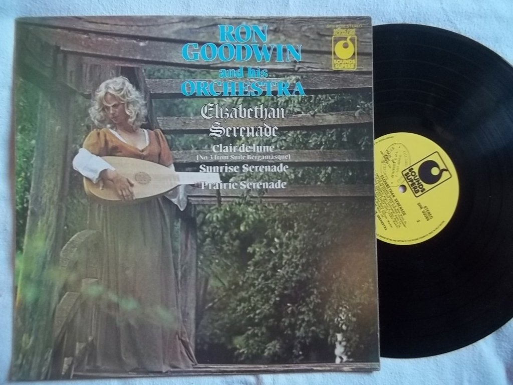 RON GOODWIN & HIS ORCHESTRA Elizabethan Serenade vinyl LP ...