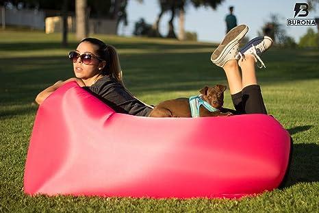 Amazon.com: Burona Inflateable Lounge Chair - Indoor ...