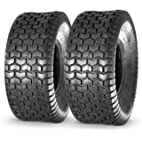 MaxAuto Lawn & Garden Turf Saver Tire 20x8-8 20x8.00-8 20x8x8,4PR, Set of 2
